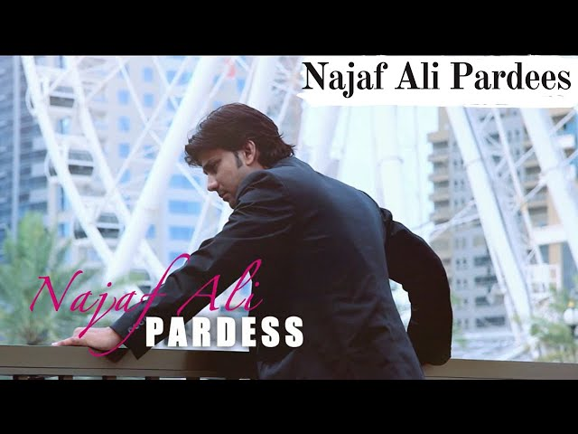 Najaf Ali song PARDES sindhi song ktn kashish