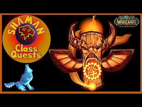 Repeat Shaman Class Quest Guide | Classic Vanilla WoW World