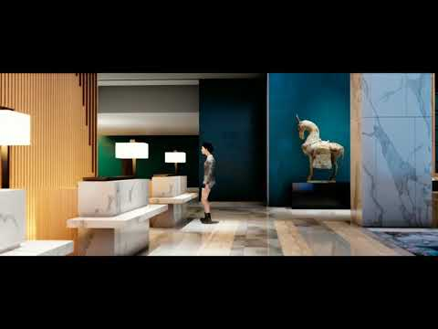 VXGI magic of UE4  The creation of a Hotel Lobby