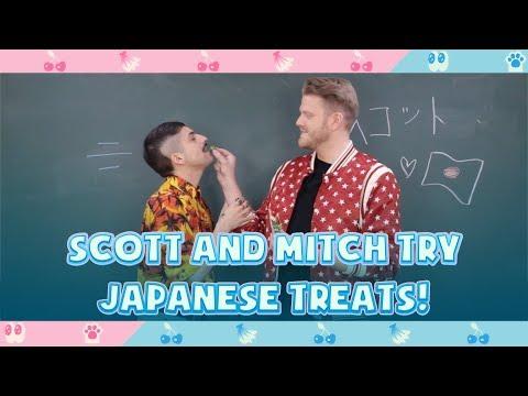 SCOTT AND MITCH TRY JAPANESE TREATS!