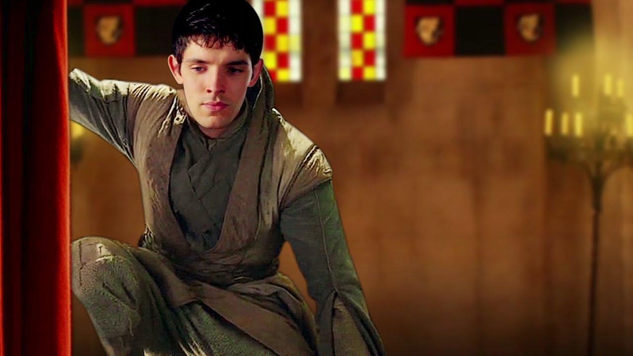 Merlin GOLDEN AGE AU Part 2 - Court Sorcerer Ceremony (for fireandicewriter)