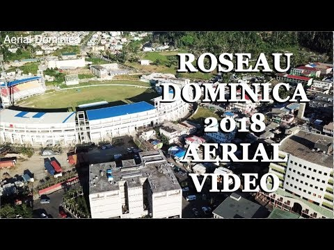 ROSEAU DOMINICA 2018 AERIAL VIDEO - AERIAL DOMINICA