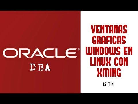 Oracle DBA | Mostrar Ventanas Graficas De Windows En Linux Con Xming