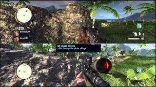 Far Cry 3 couch/local co-op gameplay with no commentary - Ready or Not part 1