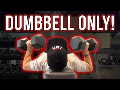 Dumbbell Only Chest Workout (7 CHEST EXERCISES!)