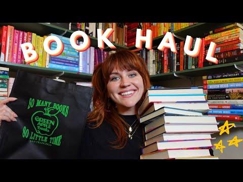 book haul! 🌴 myths, beach reads and green apple [cc]