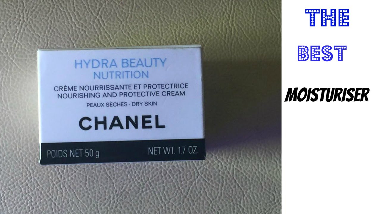 fc6e62323 The Best Moisturiser Review- Chanel Hydra Beauty Nutrition nourishing and  protective cream