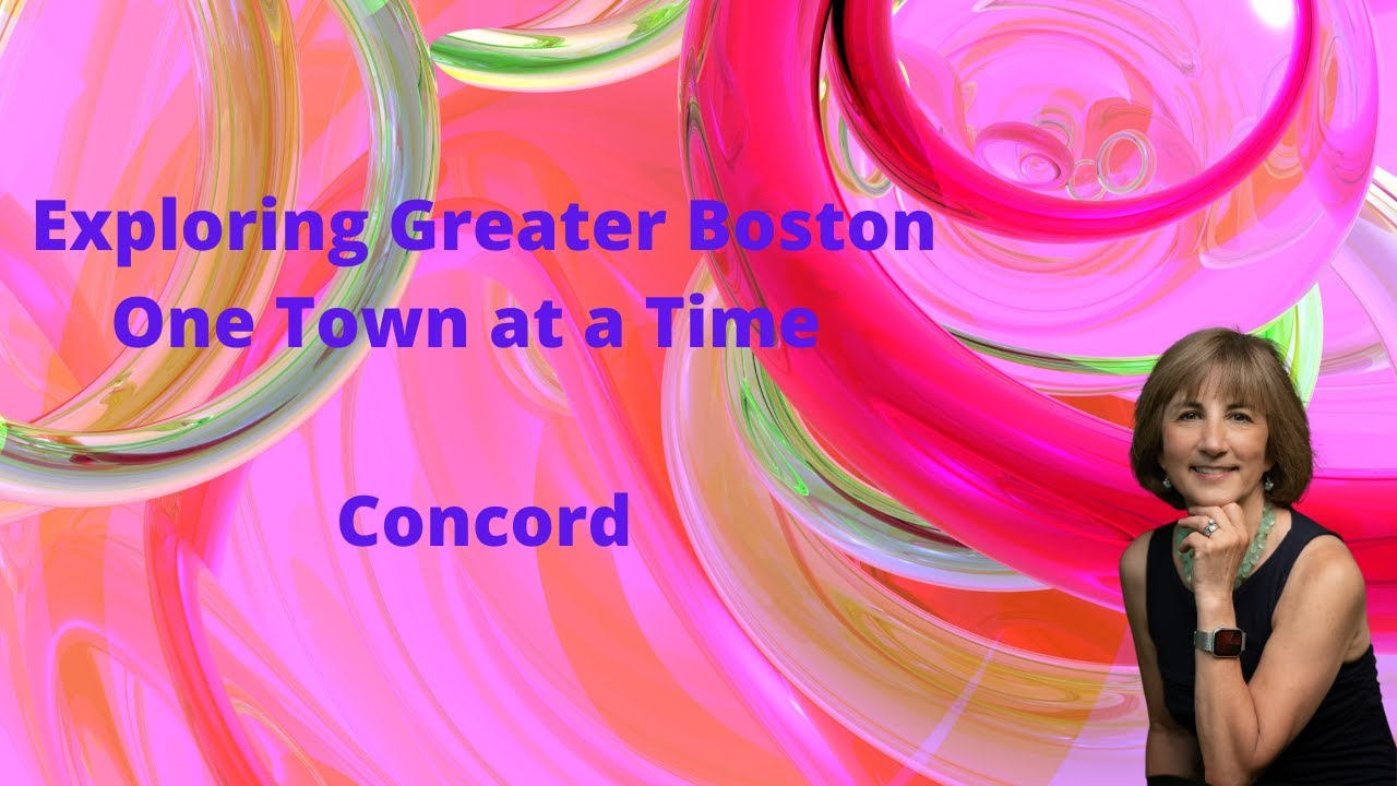 A Brief Tour of Concord, MA