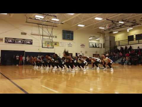 Varina high school - Basketball cheerleaders part 3