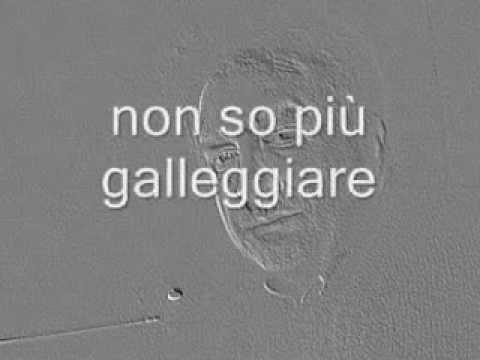 Adriano Celentano:Non So Più Cosa Fare Lyrics   …