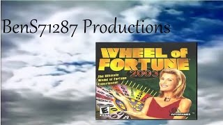 Wheel Of Fortune 2003 PC Game 9 Part 1