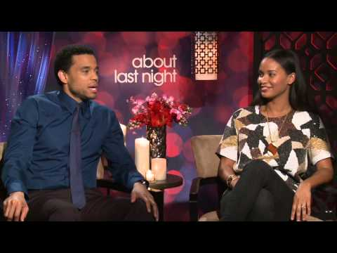 About Last Night: Michael Ealy & Joy Bryant Official Movie Interview