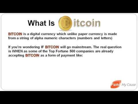 fund my cause bitcoin