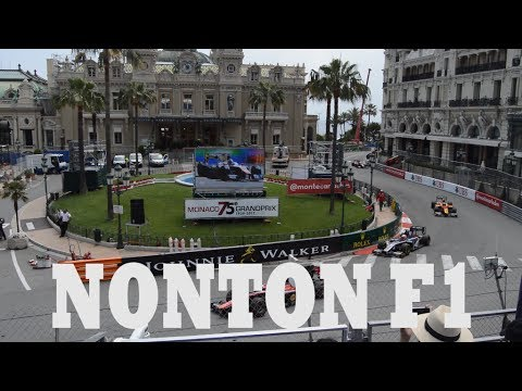Nonton Grand Prix F1 Monaco Travel Vlog#1