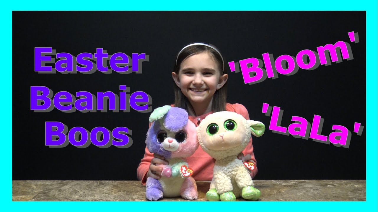 7a6f0343b57 EASTER BEANIE BOOS -  BLOOM  AND  LALA  - YouTube