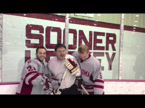 OU Sooner Hockey and O'Connell's Irish Pub!  Get into the action!