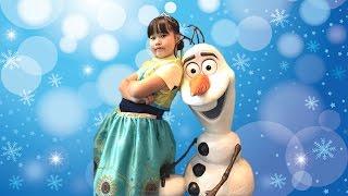 アナ & エルサ ブティック で プリンセス に変身!!♡ ビビディバビディブティック こうくんねみちゃん Frozen Boutique Princess thumbnail