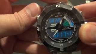 Мужские наручные часы Weide,обзор часов