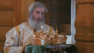 Венчание в православном храме.