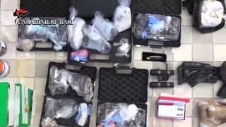 Bari, Carabinieri Scoprono Arsenale Dei Clan