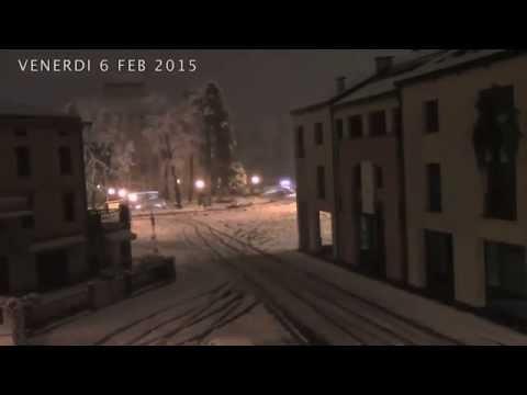 Castelnovo di Sotto Nevicata febbraio 2015