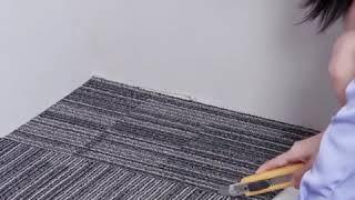 육각 퍼즐 가정용 DIY 컬러 조립 매트 카페트 무소음