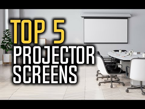 Best Projector Screens in 2018 - Which Is The Best Projector Screen?