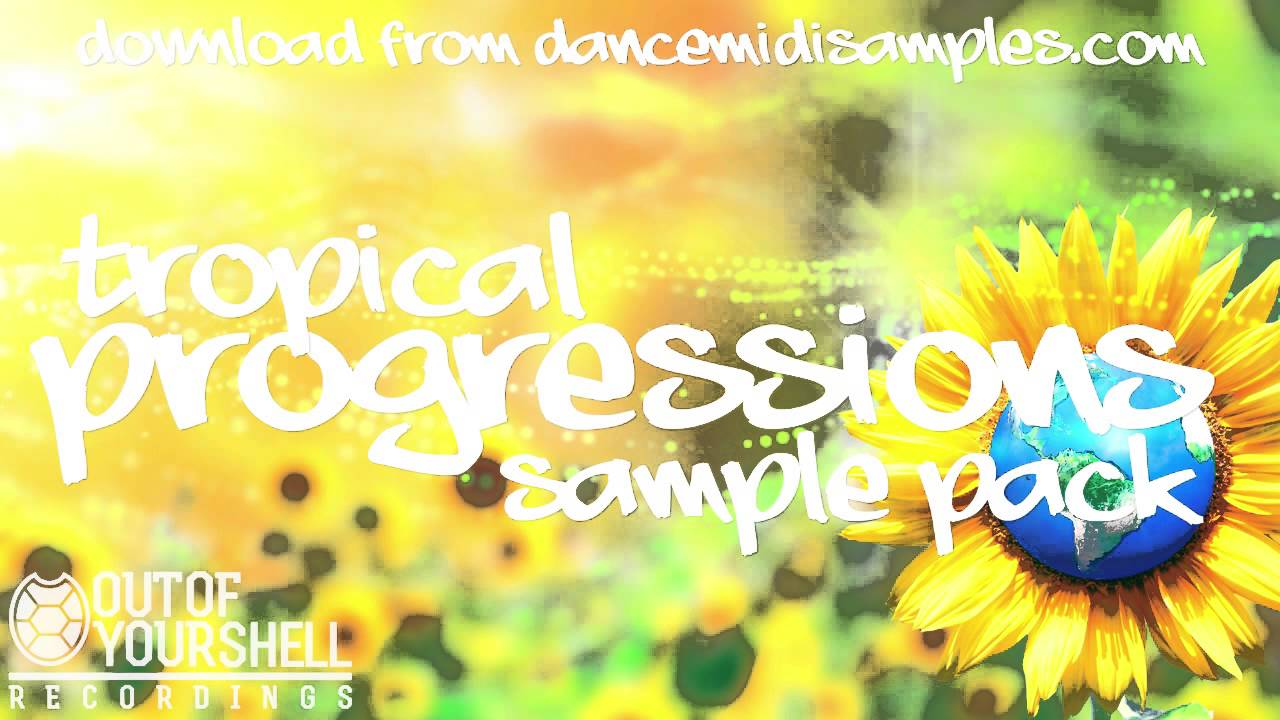 Tropical House Samples - Tropical Progressions WAV & MIDI Pack