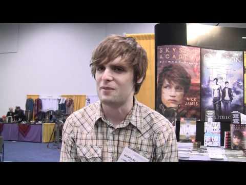 Skyship Academy series author Nick James