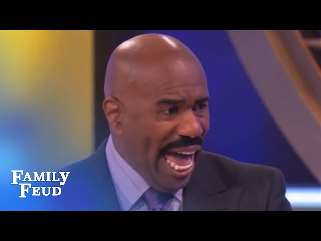 My dad was in the mob! | Family Feud