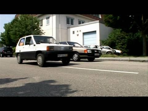 Gebrauchtwagen-Tour zum Gardasee In klapprigen Gebrauchtwage