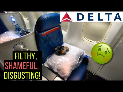 SHOCKING Delta Airlines Business Class Experience (Delta One LAX-JFK)