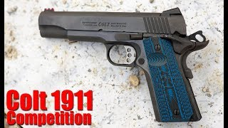 Colt Competition 1911 9mm First Shots