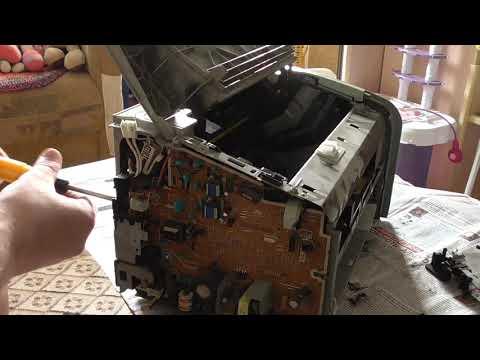 Принтер hp laserjet p1102 ремонт своими руками