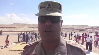 قناة السويس الجديدة:العقيد محمد مصطفى مدير المدرسةالرياضية :الجيش مدرسة البطولة