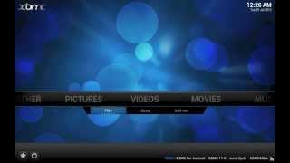 XBMC tip: Adding your network video files to XBMC