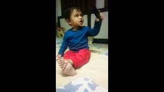 Baby laugh and funny moods