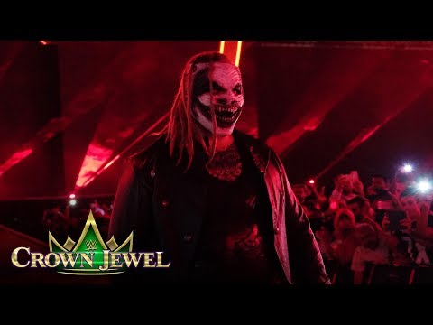 """""""The Fiend"""" Bray Wyatt emerges from the darkness: WWE Crown Jewel 2019 (WWE Network Exclusive)"""