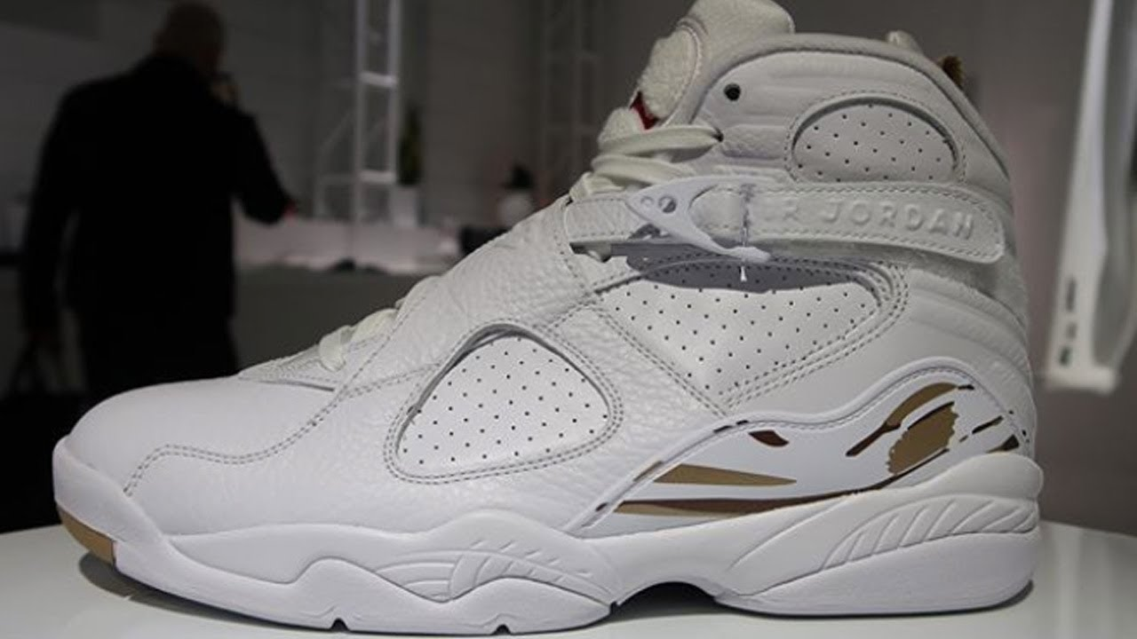 873def1aeab751 Air Jordan 8  OVO  - YouTube