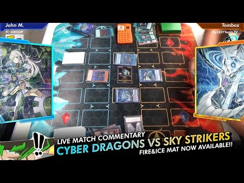 Epic Live Match - Cyber Dragons vs Sky Strikers - POST-CYHO TCG