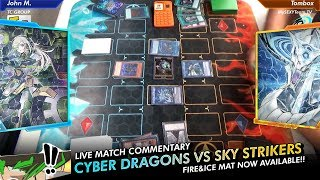 Epic Live Match - Cyber Dragons vs Sky Strikers - POST-CYHO TCG