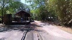 Jacksonville Zoo Train Rear Facing Camera May 2017