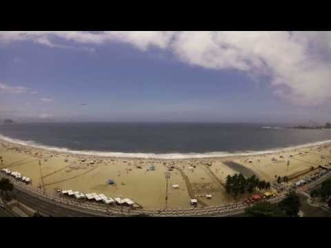 A day in Rio on the Copacabana