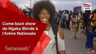 Come back show de Ngaka Blindé à l'Aréne Nationale : Ça chauffe déjà