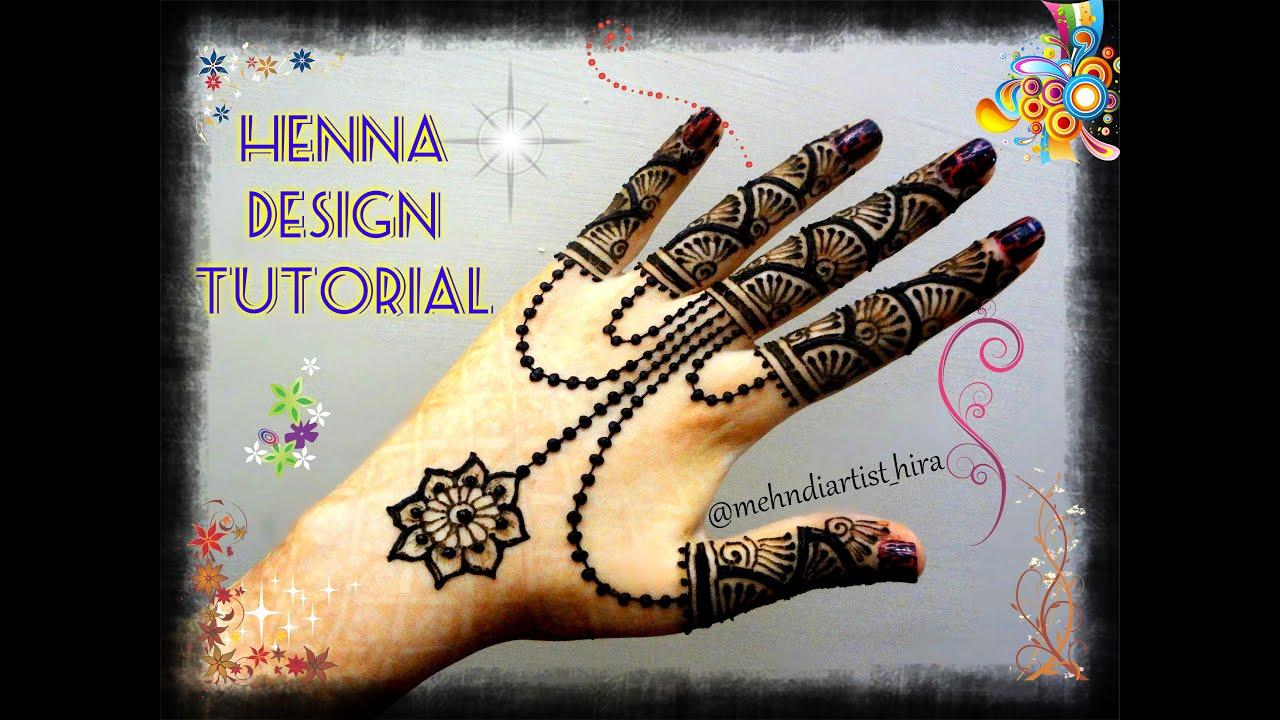 Mehndi Party N Wedding : Easy simple henna jewellery inspired mehndi designs for hands