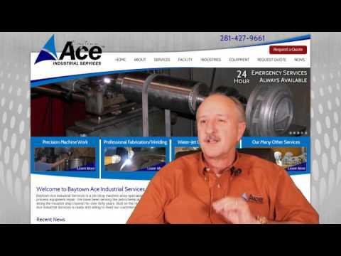 Web design machine shop, Houston