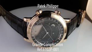 Patek Philippe 6102P-001 обзор часов | Mywatch.ru