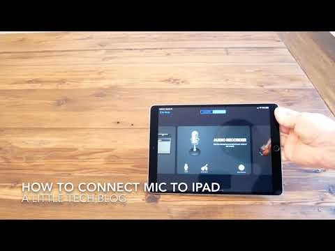 How to Connect Microphone to iPad Pro (Blue Yeti Mic)