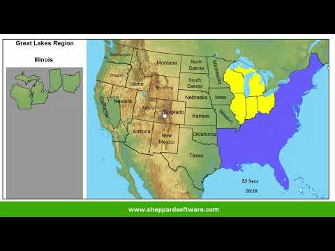 sheppard software us map Usa States Map Jigsaw Puzzle Geography Game Level 1 Learn The
