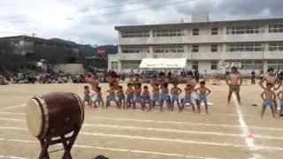 福岡県筑紫野市 バディスポーツ幼育園 運動会 組体操後 『バディハカ』